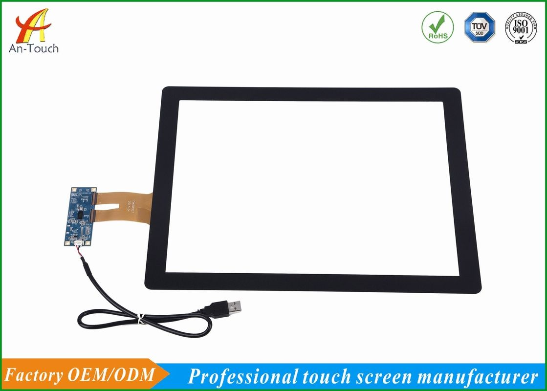 15 Inch All In One Touch Screen , Capacitive Screen Touch Kit For Windows Systems