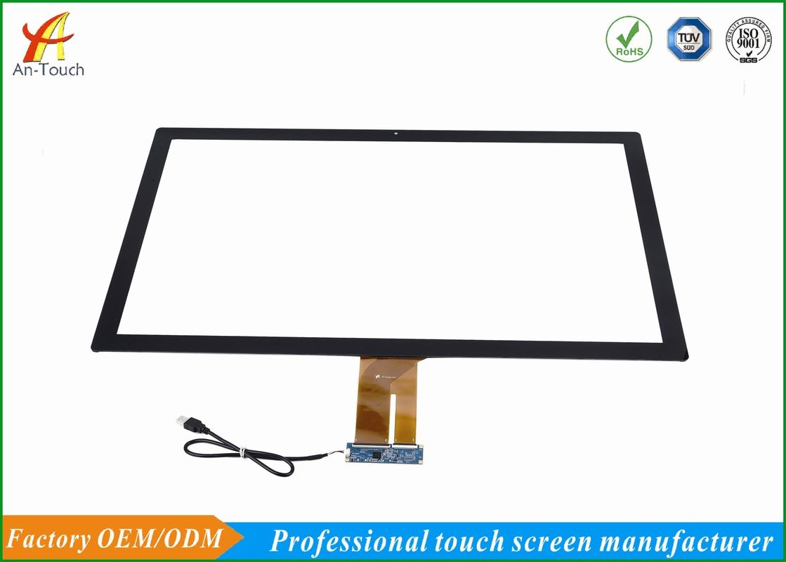 "Multi Touch 32"" Smart Home Touch Panel Screen 759.4*453.84mm Outline Dimension"