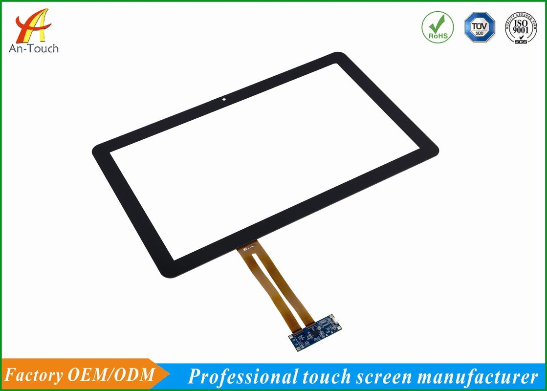 21.5 Inch Projected Capacitive Touch Panel , Ten Point Touch Screen For Outdoor Kiosk